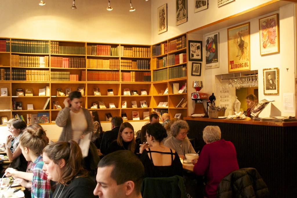 Ambiance higgelig au Paludan Café