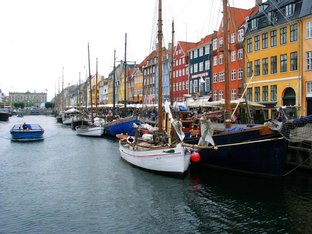 Les canaux de Nyhavn