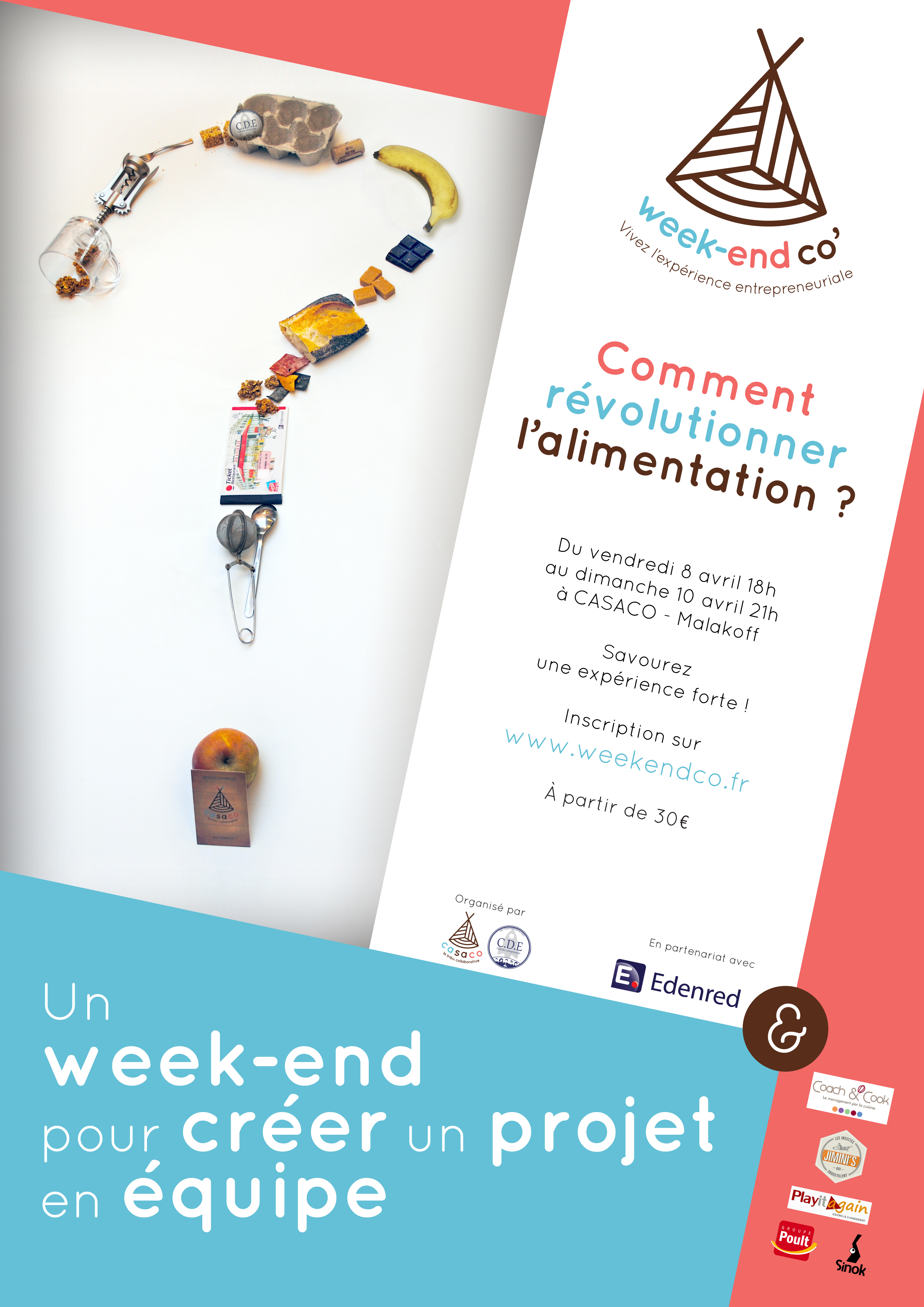 Affiche Week-end Co'