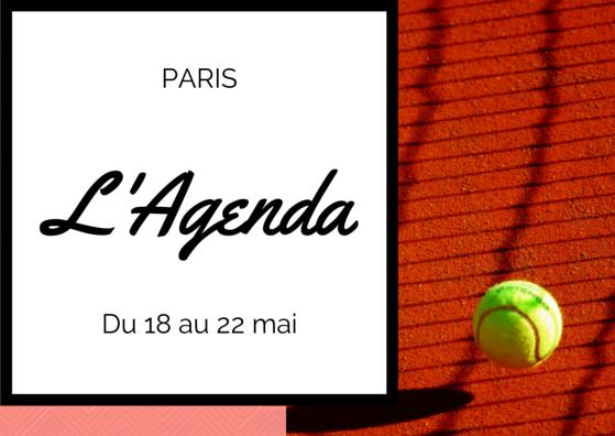 Agenda 18 au 22 mai