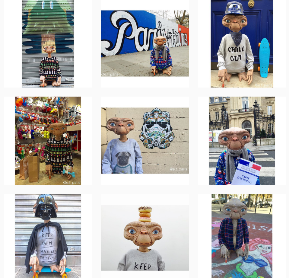 Instagram E.T Paris