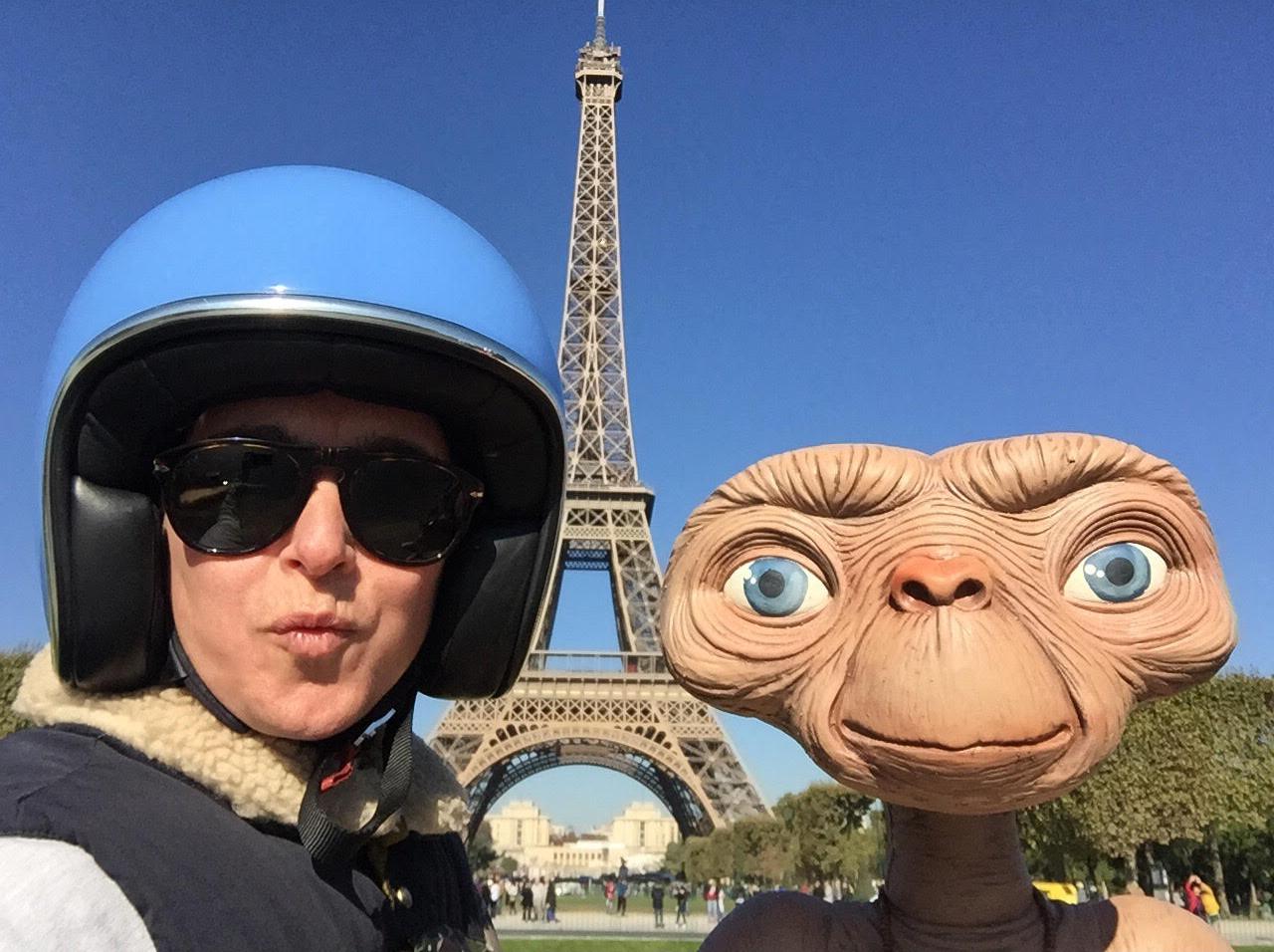 Emilie & E.T
