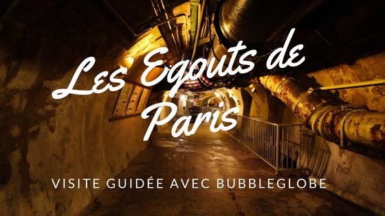 égouts de Paris