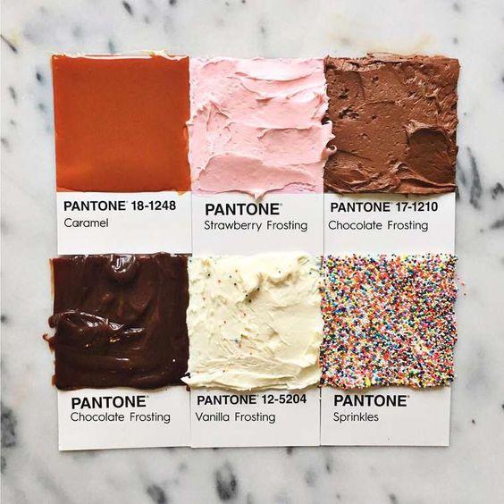 Pantone toppings
