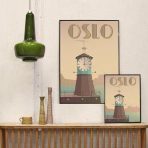Affiche Oslo