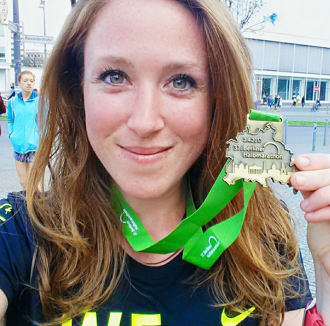 Semi-marathon de Berlin 2017 - StrawberryBlonde